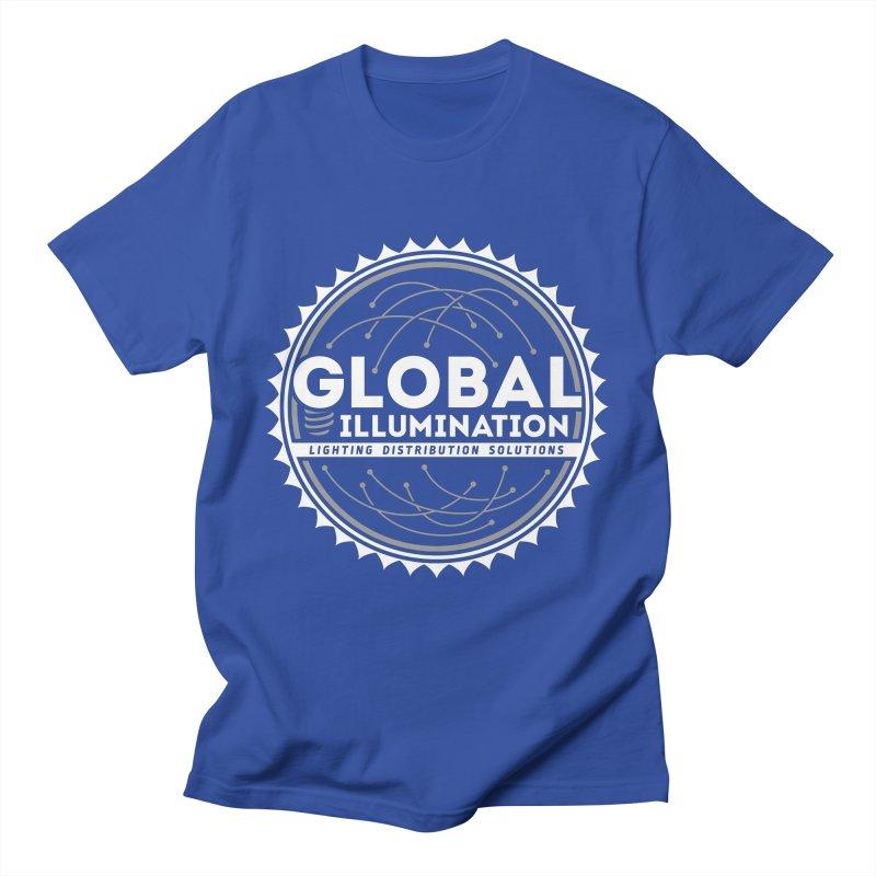 Global Illumination Men's T-Shirt by Teeframed