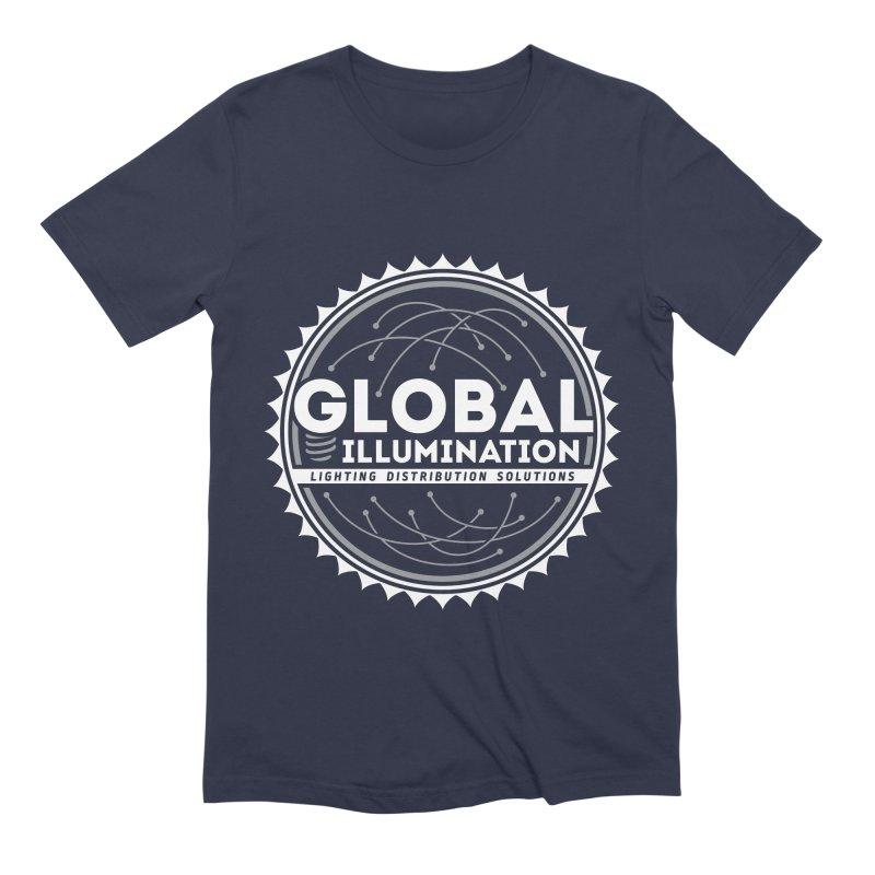 Global Illumination Men's Extra Soft T-Shirt by Teeframed