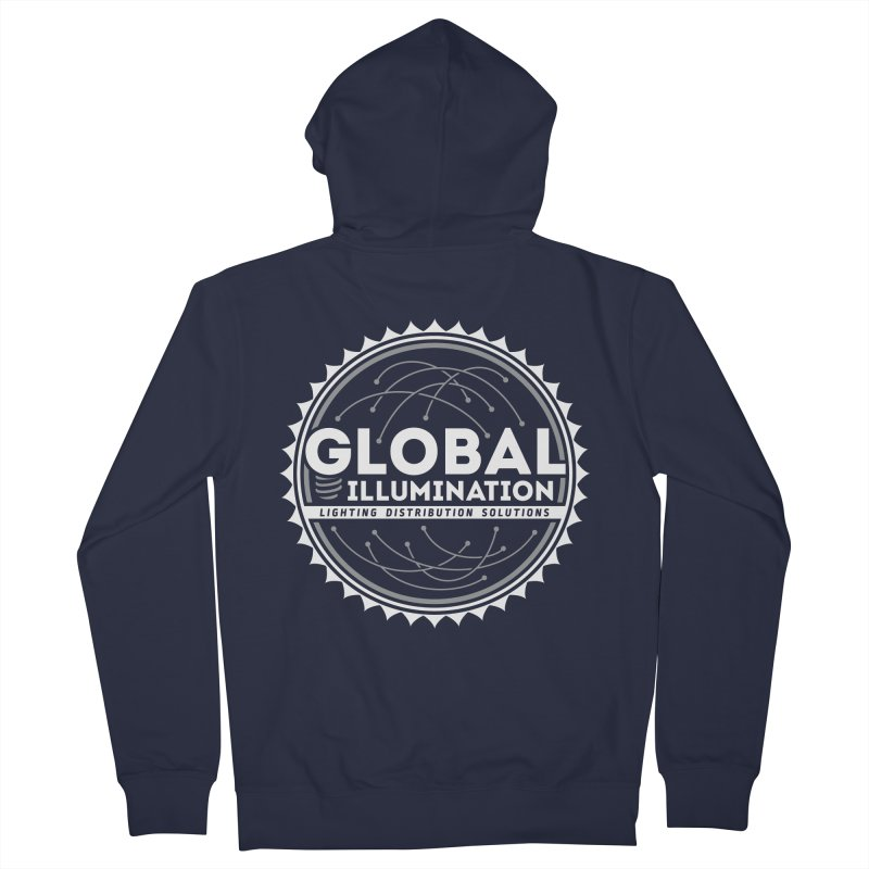 Global Illumination Women's French Terry Zip-Up Hoody by Teeframed