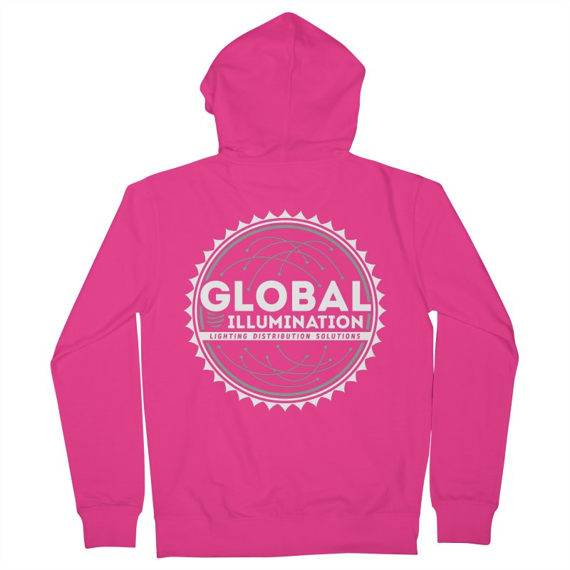 Global Illumination Men's Zip-Up Hoody by Teeframed