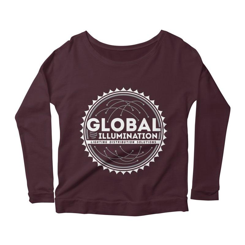 Global Illumination Women's Longsleeve Scoopneck  by Teeframed