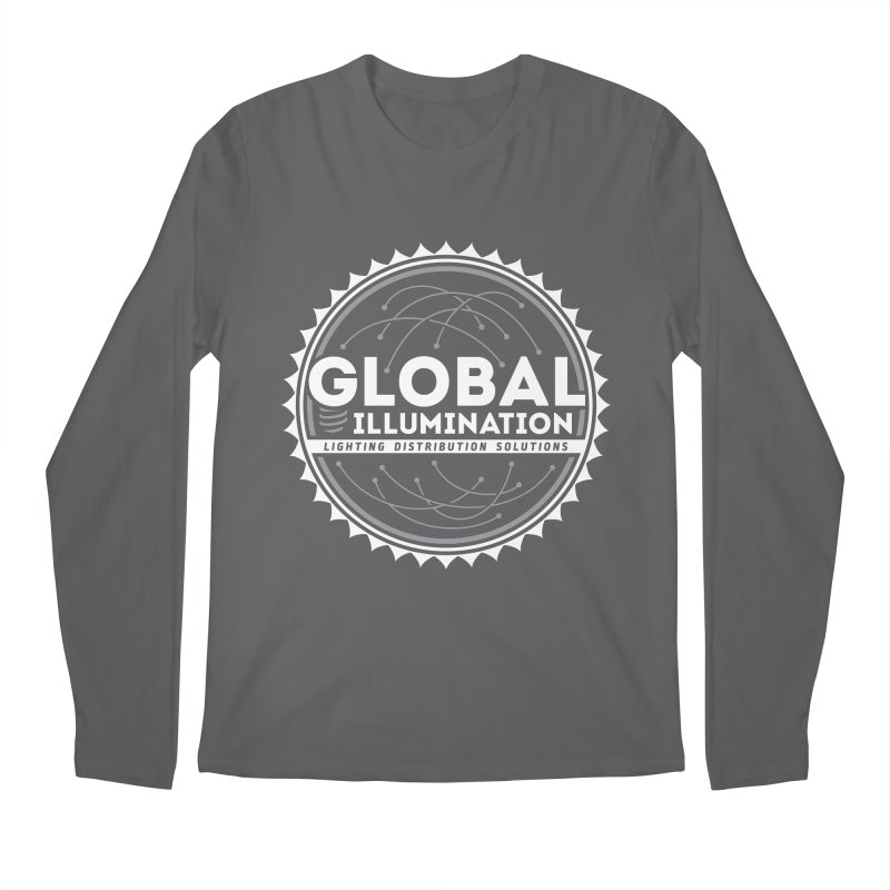 Global Illumination Men's Regular Longsleeve T-Shirt by Teeframed