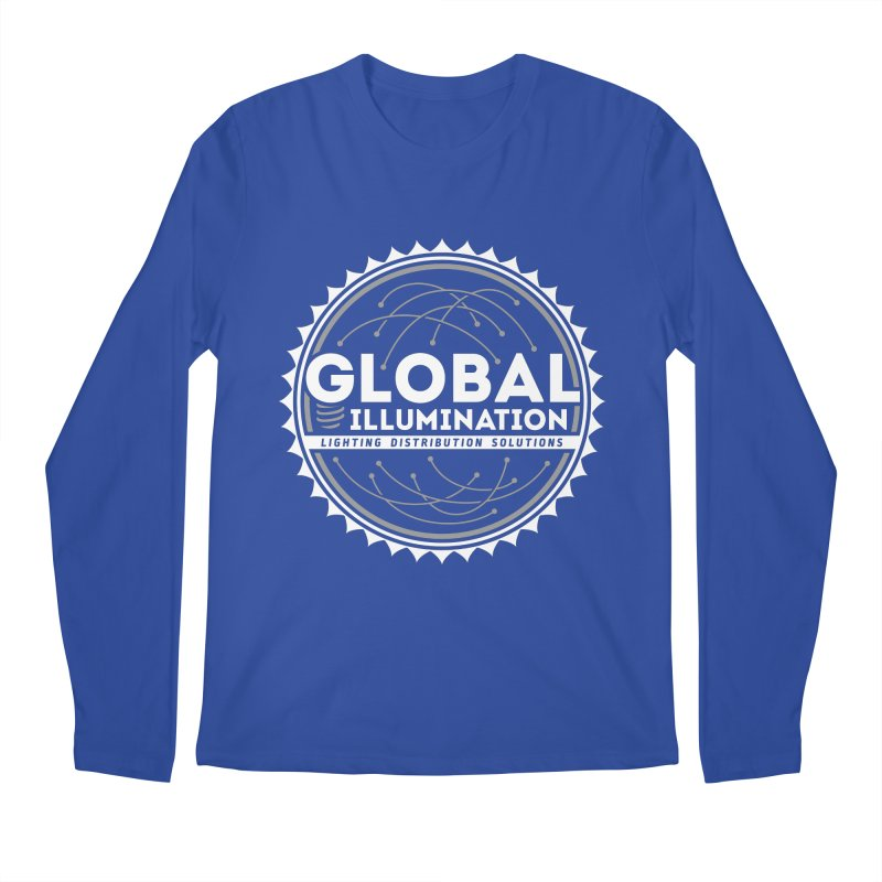 Global Illumination Men's Longsleeve T-Shirt by Teeframed