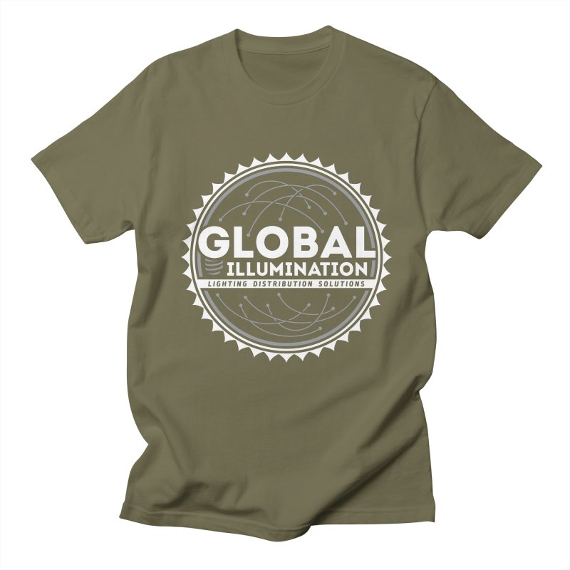 Global Illumination Men's T-Shirt by Teeframed