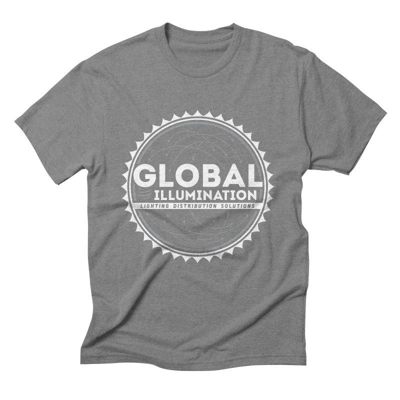 Global Illumination Men's Triblend T-Shirt by Teeframed