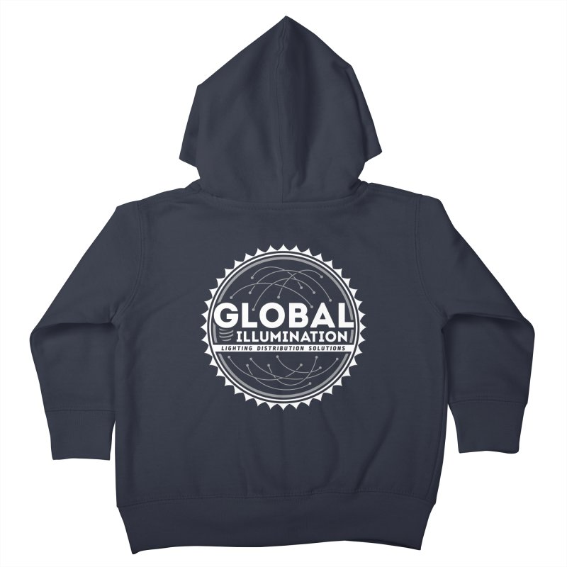 Global Illumination Kids Toddler Zip-Up Hoody by Teeframed