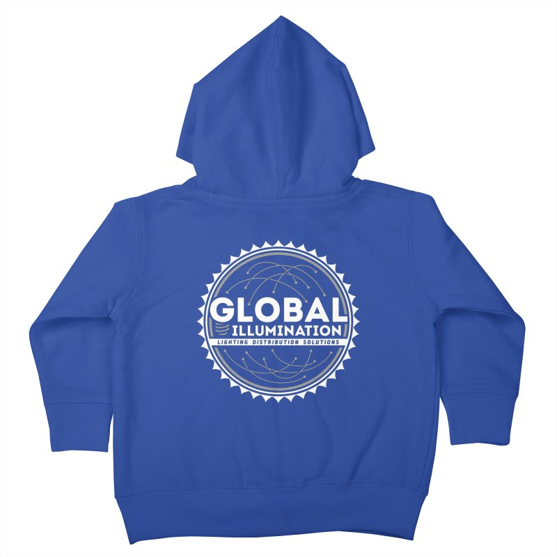 Global Illumination Kids Toddler Zip-Up Hoody by Teeframed