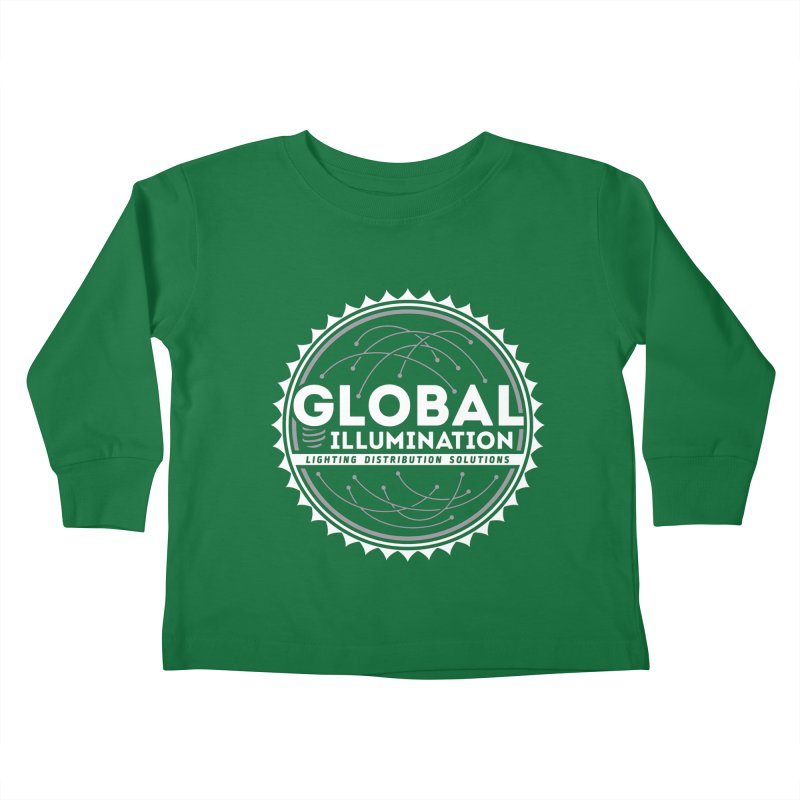 Global Illumination Kids Toddler Longsleeve T-Shirt by Teeframed