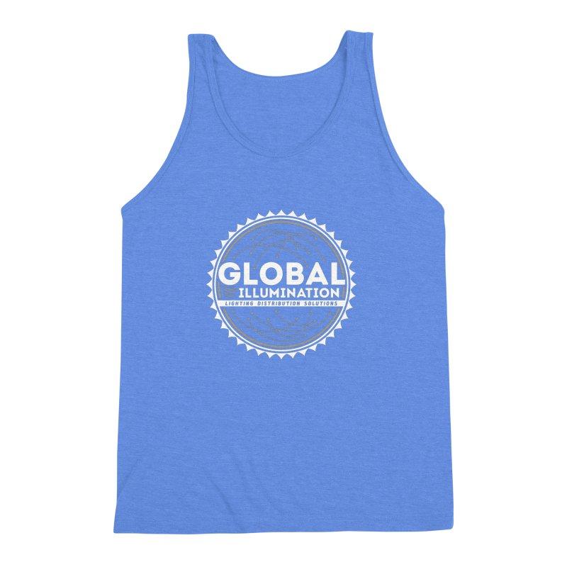 Global Illumination Men's Triblend Tank by Teeframed