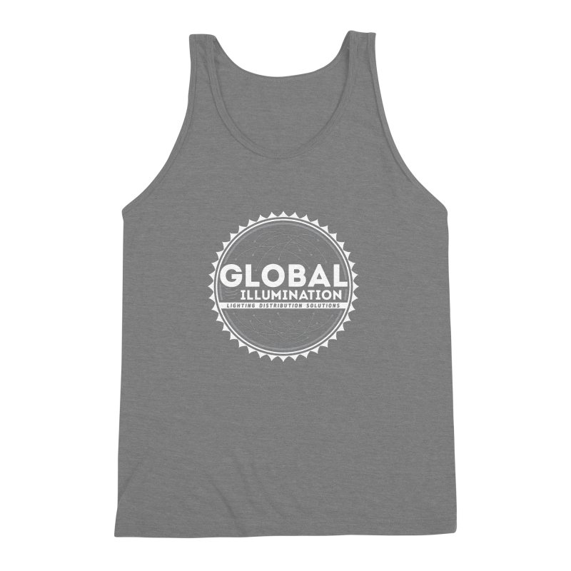 Global Illumination Men's Triblend Tank by Teeframed