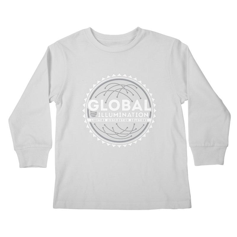 Global Illumination Kids Longsleeve T-Shirt by Teeframed