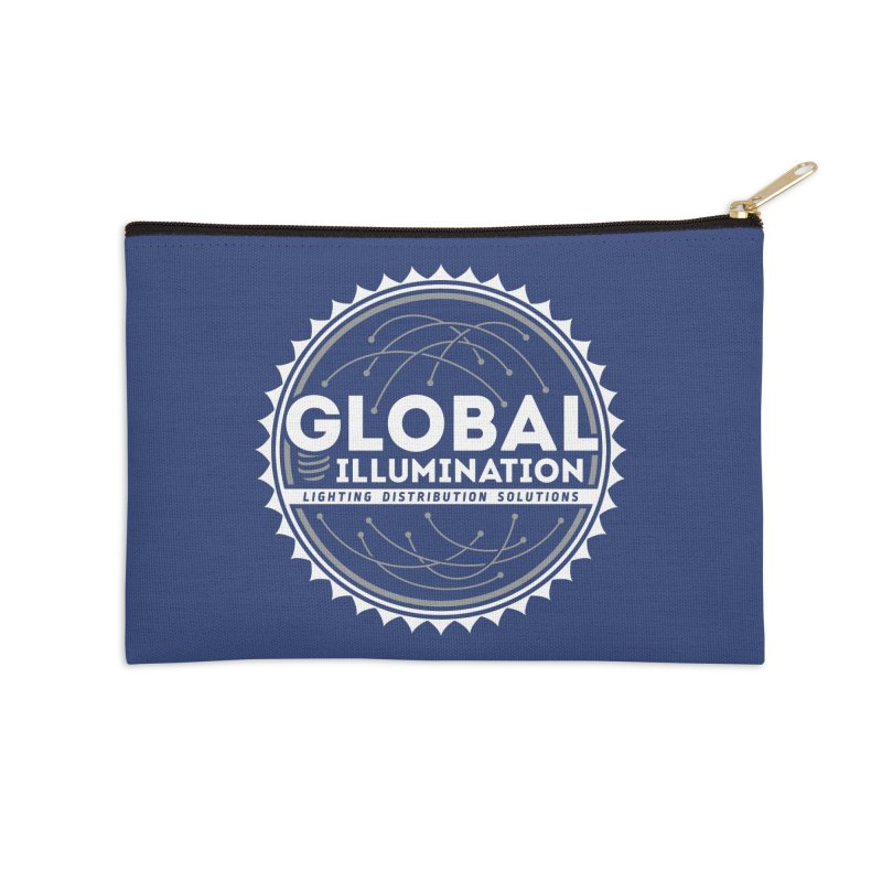 Global Illumination Accessories Zip Pouch by Teeframed