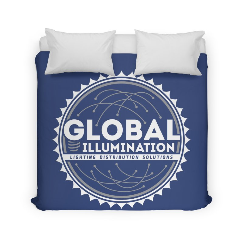 Global Illumination Home Duvet by Teeframed