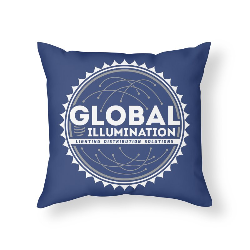 Global Illumination Home Throw Pillow by Teeframed