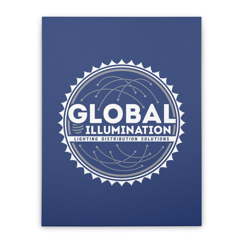 Global Illumination Home Stretched Canvas by Teeframed