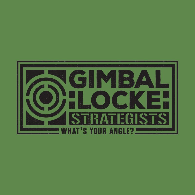 Gimbal Locke Strategists Men's Tank by Teeframed