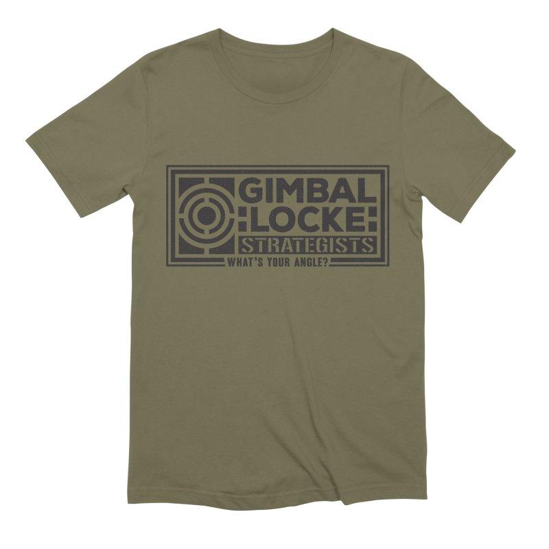 Gimbal Locke Strategists Men's T-Shirt by Teeframed