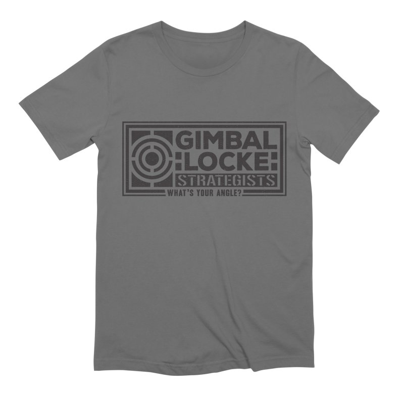 Gimbal Locke Strategists Men's Extra Soft T-Shirt by Teeframed
