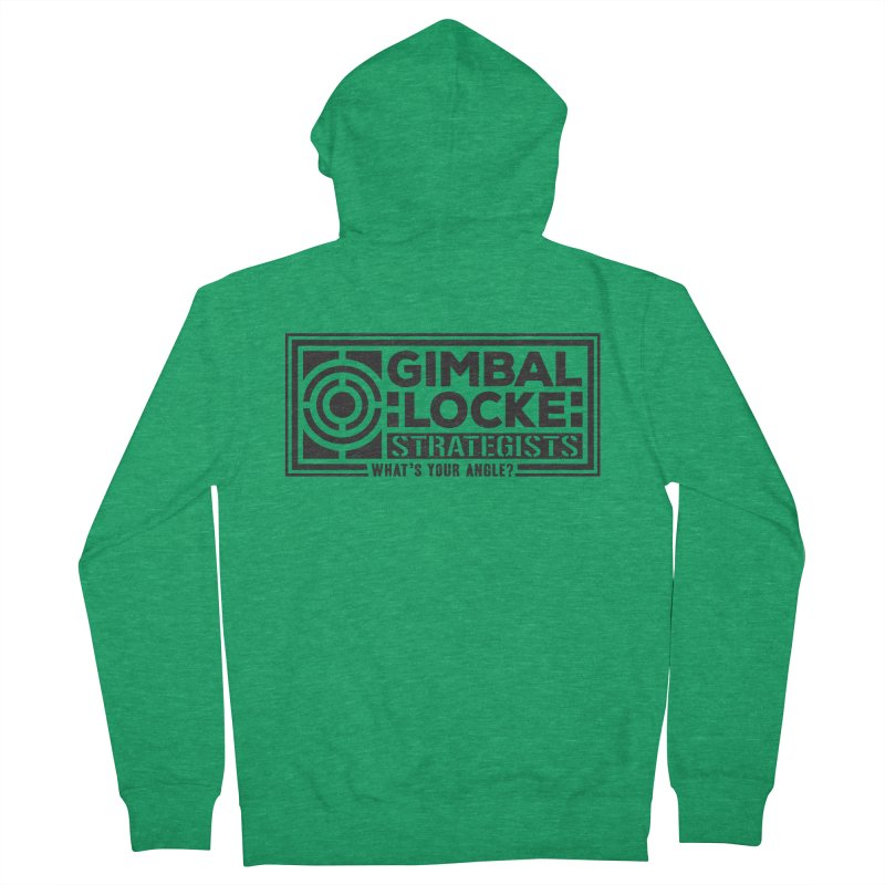 Gimbal Locke Strategists Men's Zip-Up Hoody by Teeframed