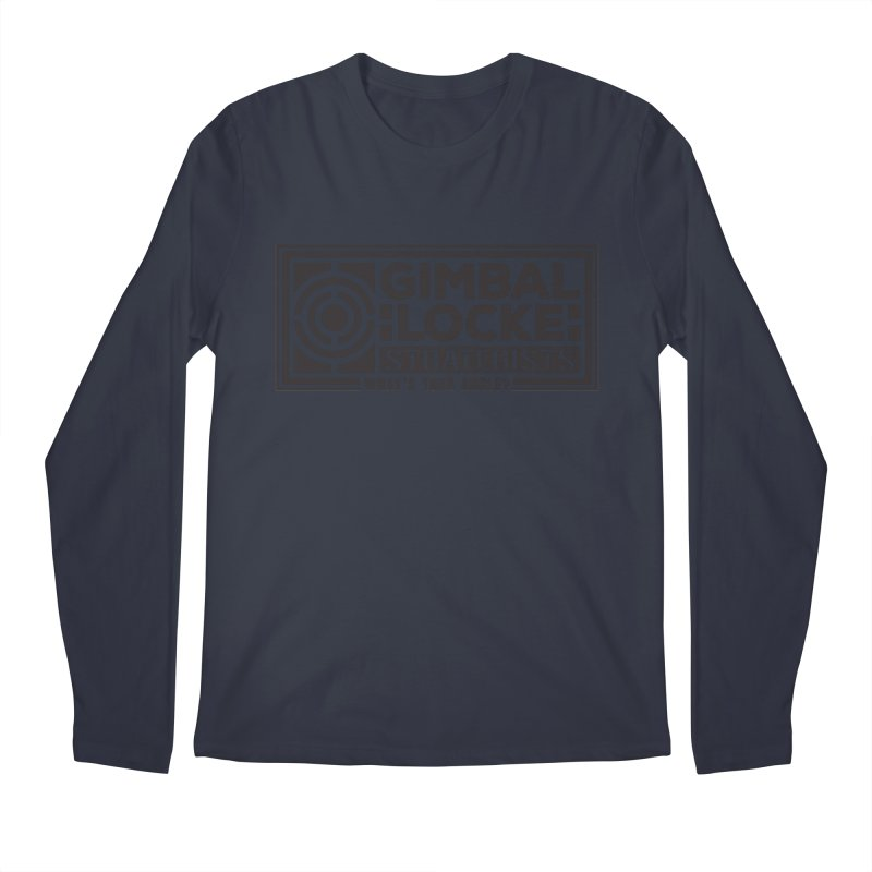 Gimbal Locke Strategists Men's Longsleeve T-Shirt by Teeframed
