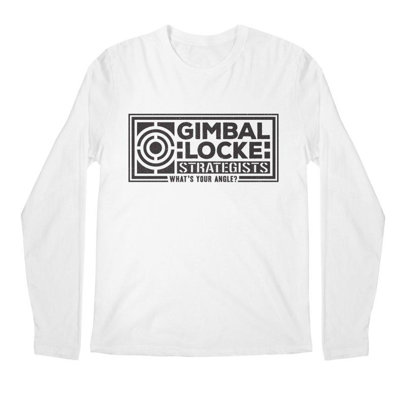 Gimbal Locke Strategists Men's Longsleeve T-Shirt by Teeframed