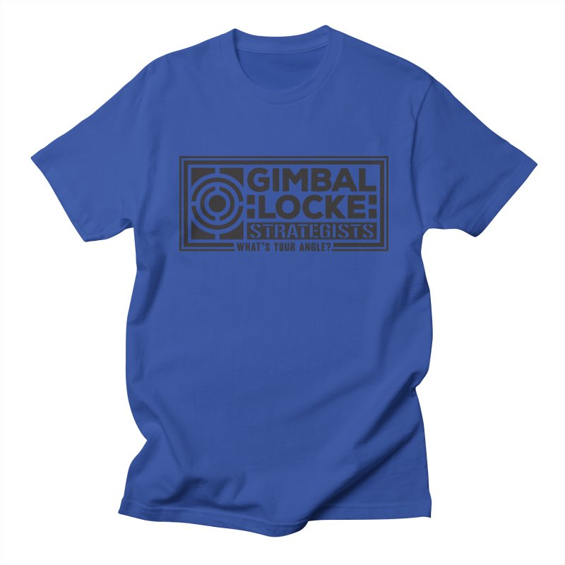 Gimbal Locke Strategists Men's T-Shirt by Teeframed
