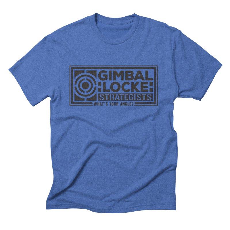 Gimbal Locke Strategists Men's Triblend T-Shirt by Teeframed