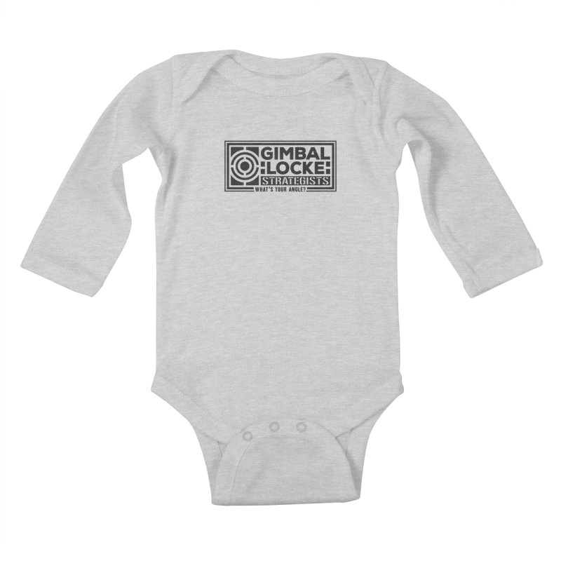 Gimbal Locke Strategists Kids Baby Longsleeve Bodysuit by Teeframed