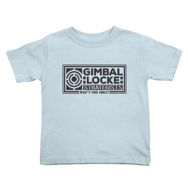 Gimbal Locke Strategists Kids Toddler T-Shirt by Teeframed