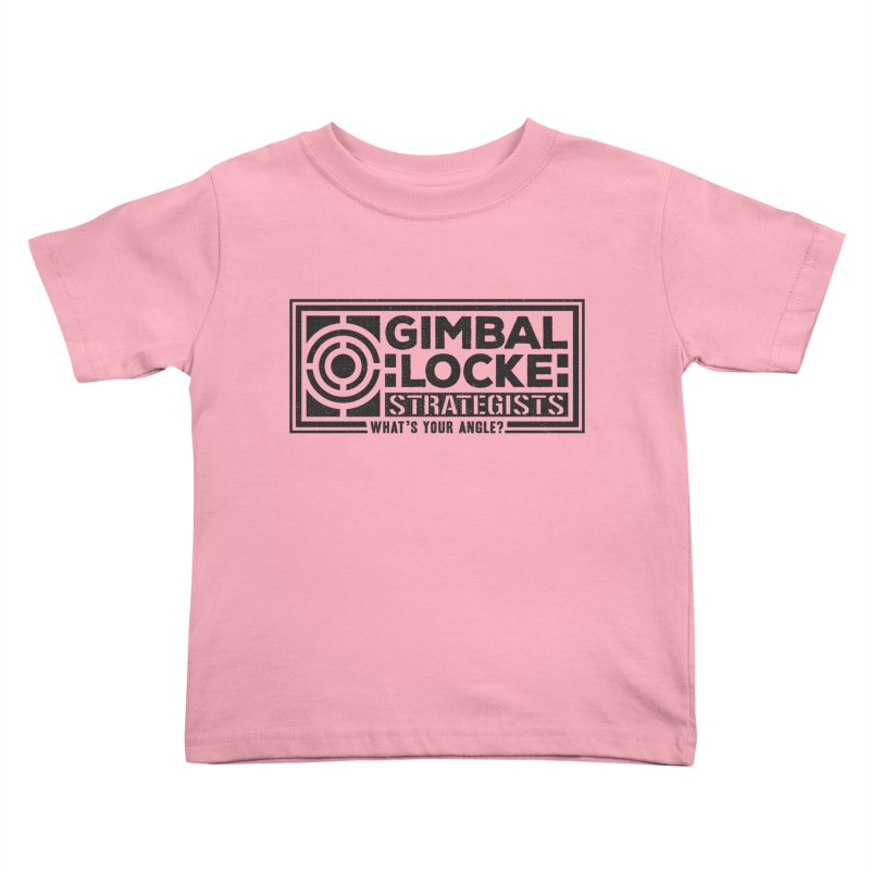 Gimbal Locke Strategists Kids Toddler T-Shirt by Teeframed