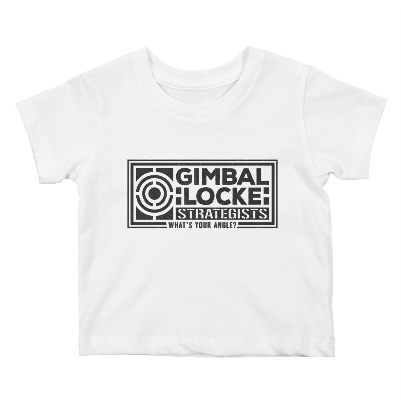 Gimbal Locke Strategists Kids Baby T-Shirt by Teeframed
