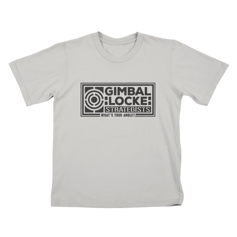 Gimbal Locke Strategists Kids T-Shirt by Teeframed