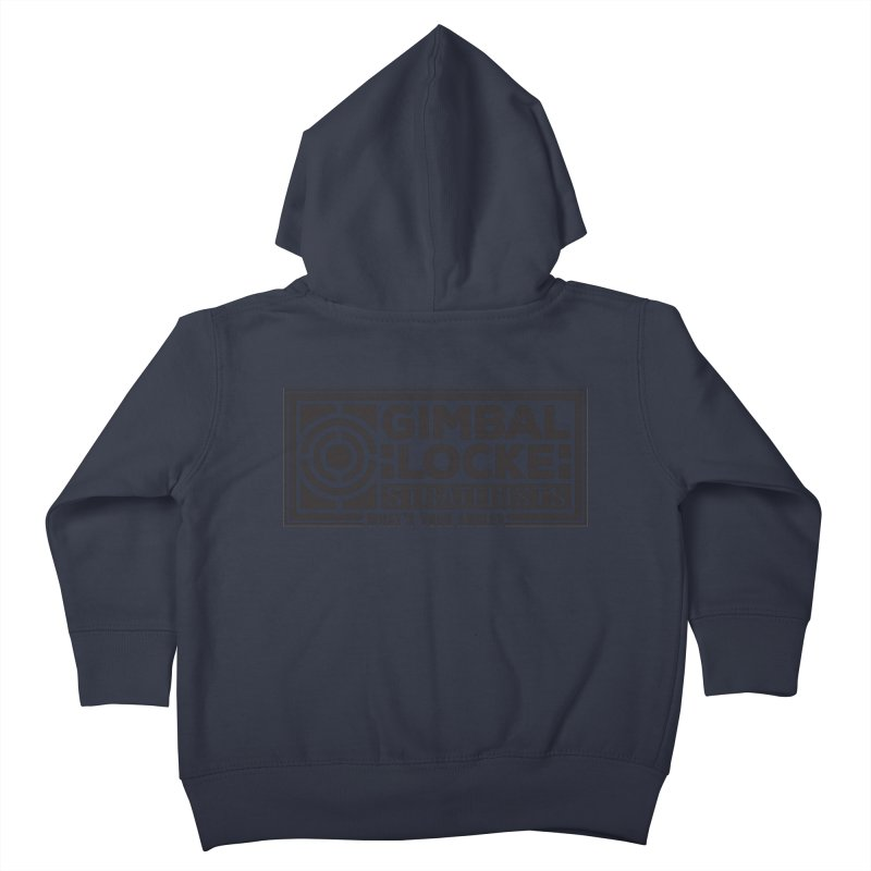 Gimbal Locke Strategists Kids Toddler Zip-Up Hoody by Teeframed