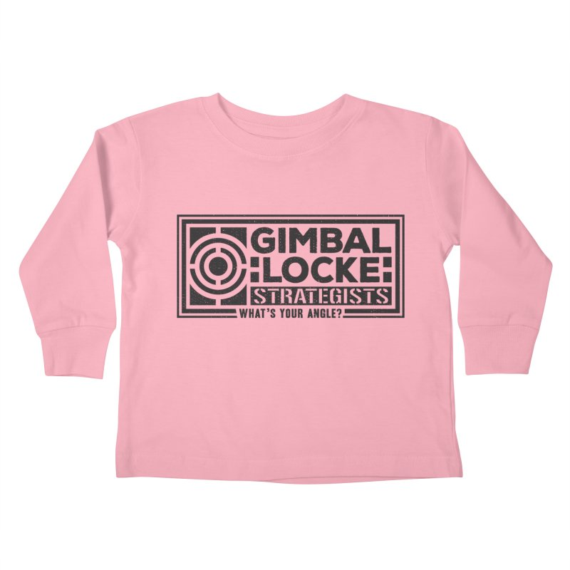 Gimbal Locke Strategists Kids Toddler Longsleeve T-Shirt by Teeframed