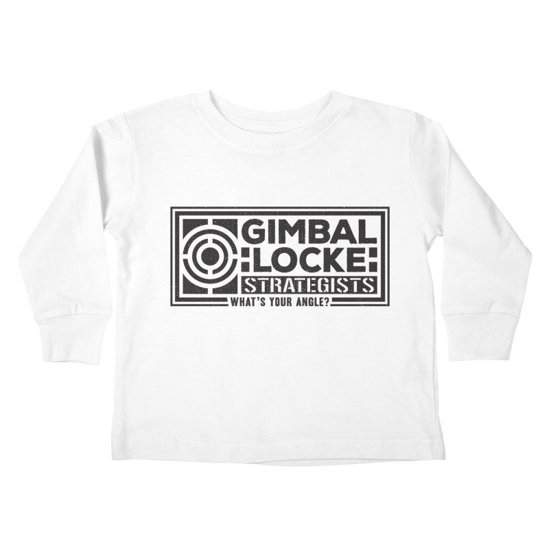 Gimbal Locke Strategists Kids Toddler Longsleeve T-Shirt by Teeframed