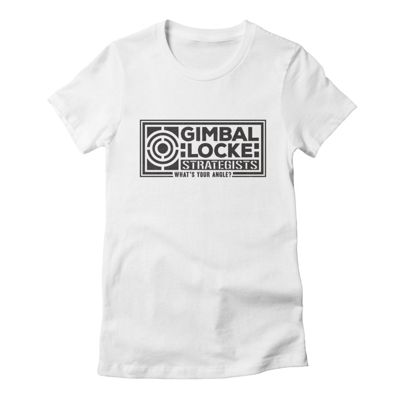 Gimbal Locke Strategists Women's Fitted T-Shirt by Teeframed