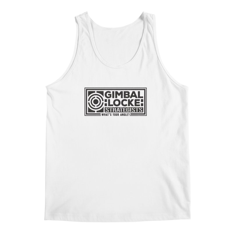 Gimbal Locke Strategists Men's Regular Tank by Teeframed