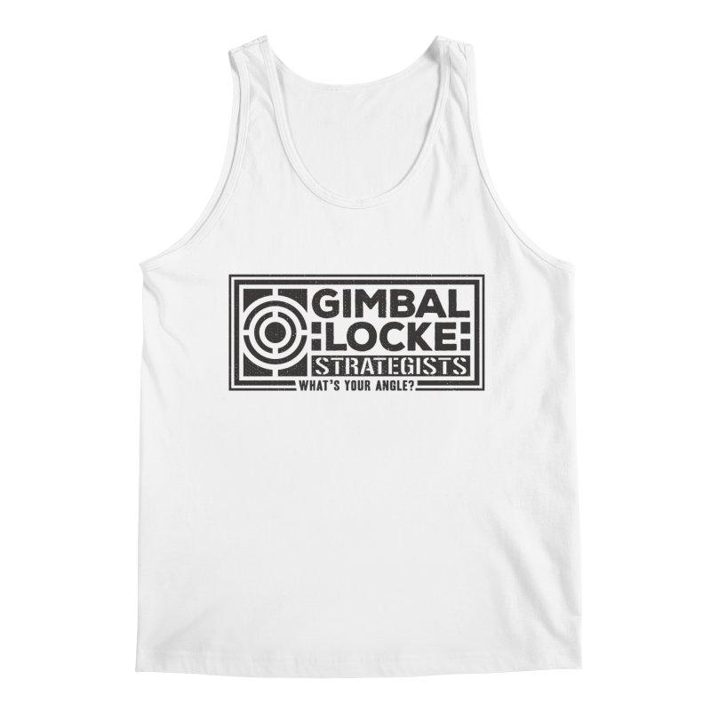 Gimbal Locke Strategists Men's Regular Tank by Teeframed