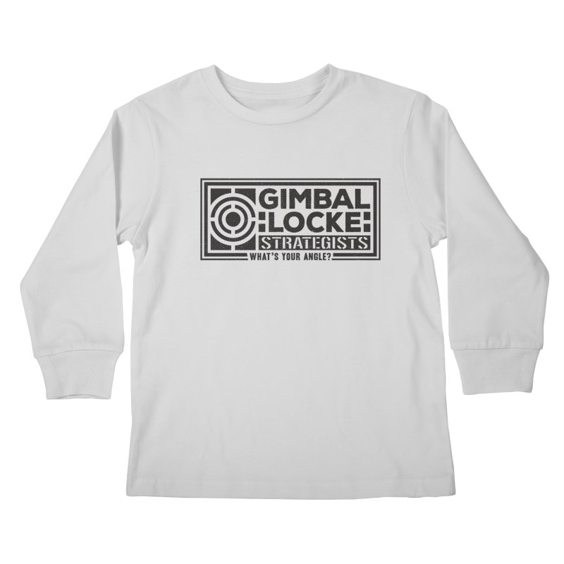 Gimbal Locke Strategists Kids Longsleeve T-Shirt by Teeframed
