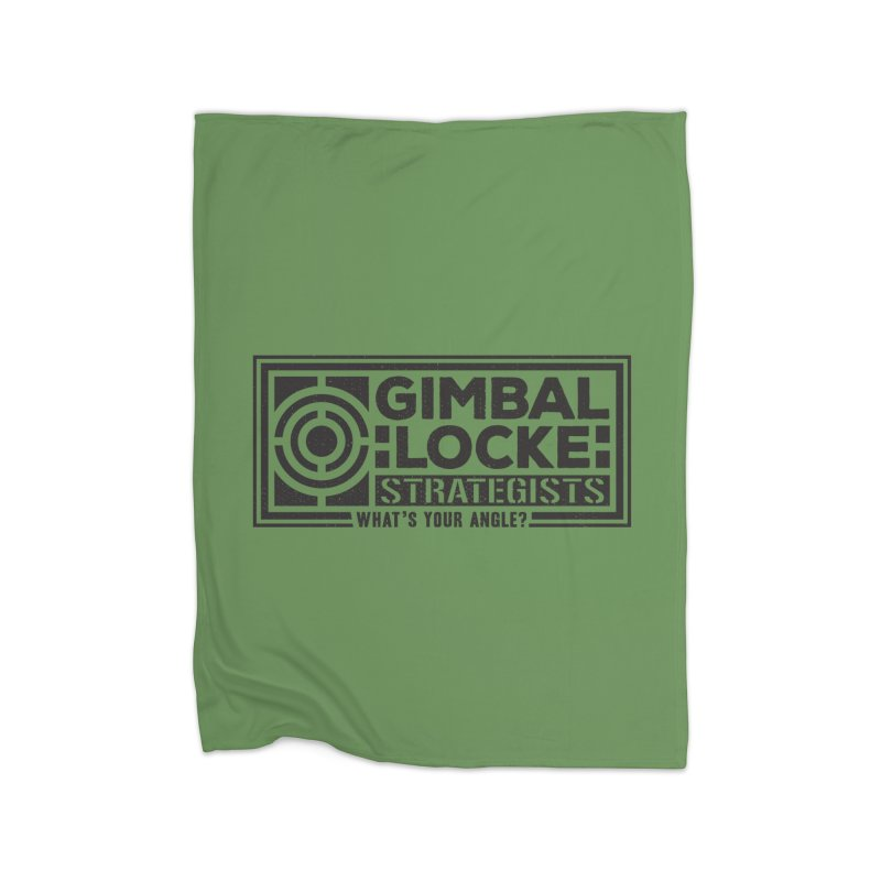 Gimbal Locke Strategists Home Blanket by Teeframed