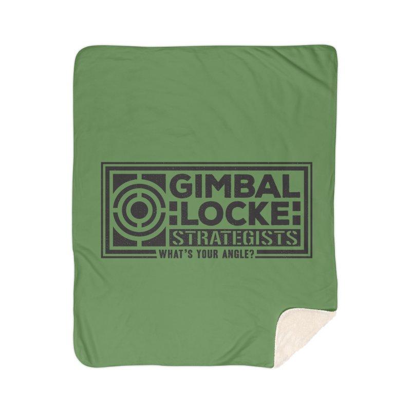 Gimbal Locke Strategists Home Sherpa Blanket Blanket by Teeframed
