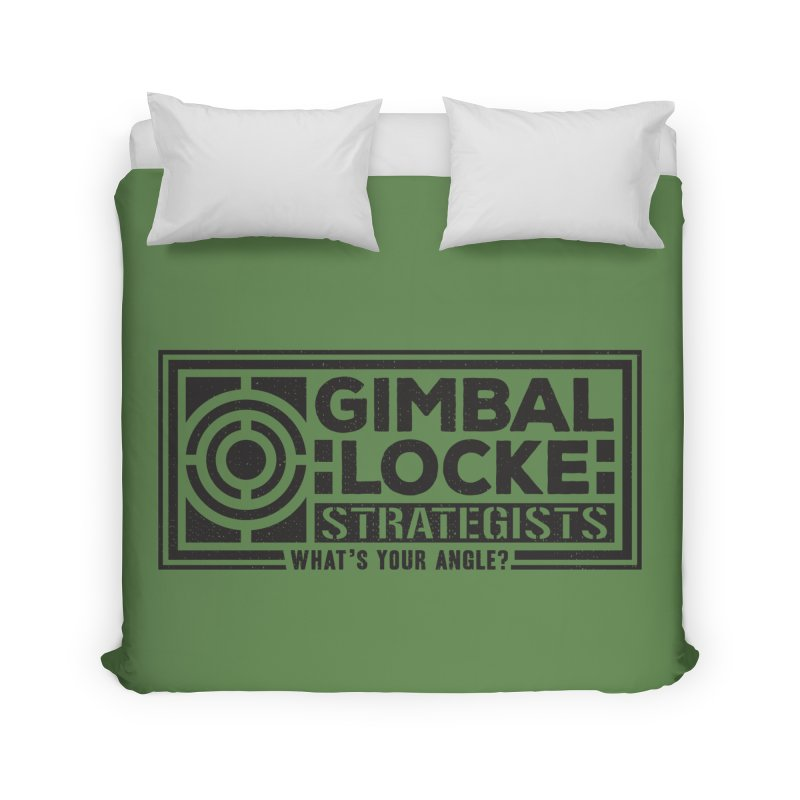 Gimbal Locke Strategists Home Duvet by Teeframed