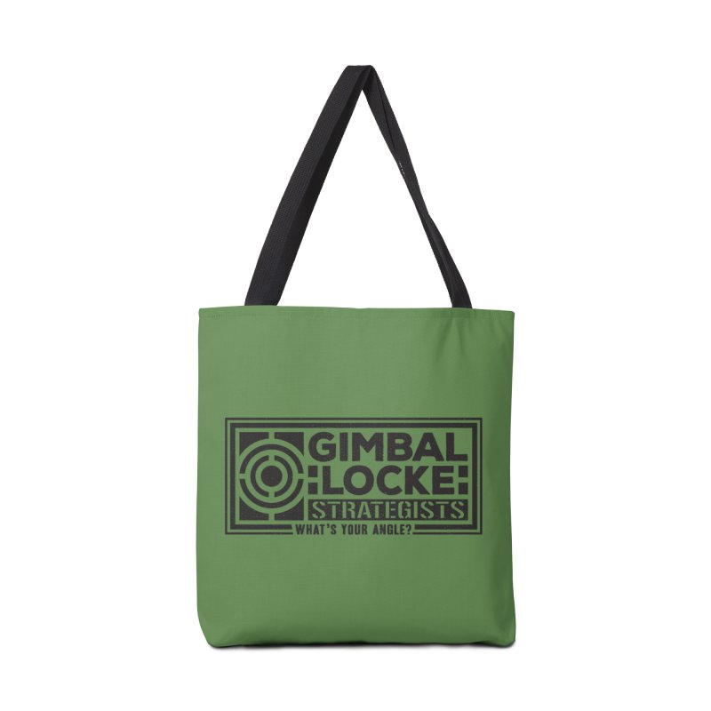 Gimbal Locke Strategists Accessories Bag by Teeframed