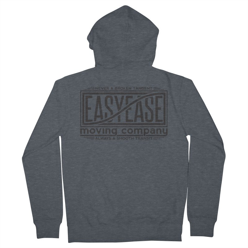 Easy Ease Men's French Terry Zip-Up Hoody by Teeframed