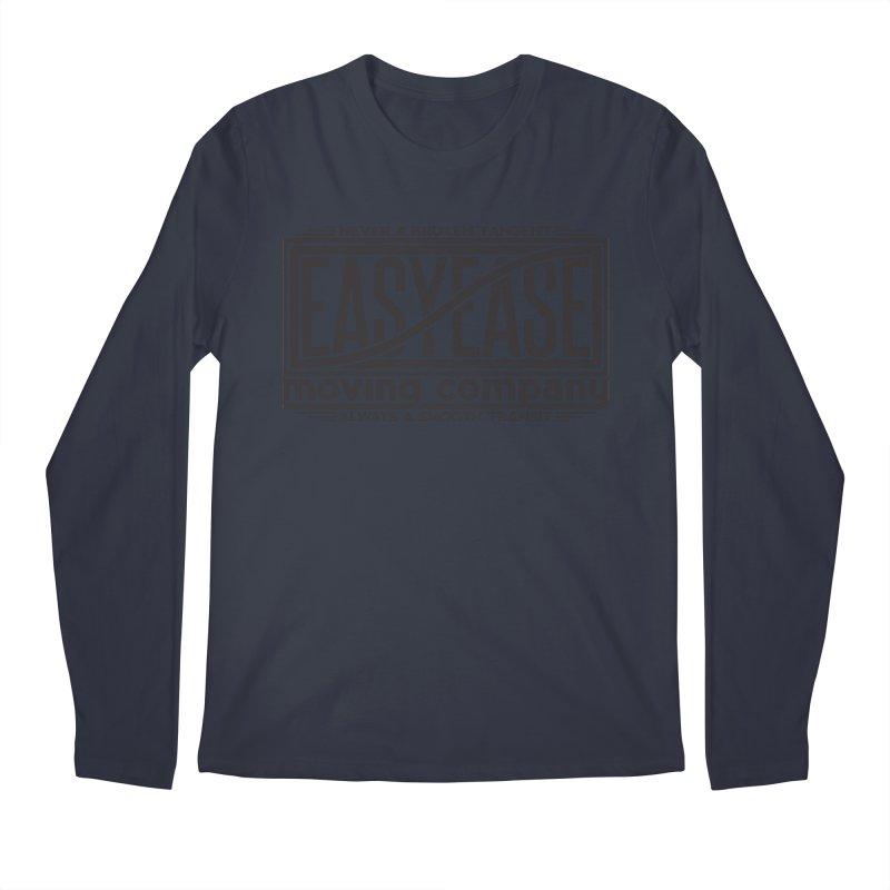 Easy Ease Men's Longsleeve T-Shirt by Teeframed