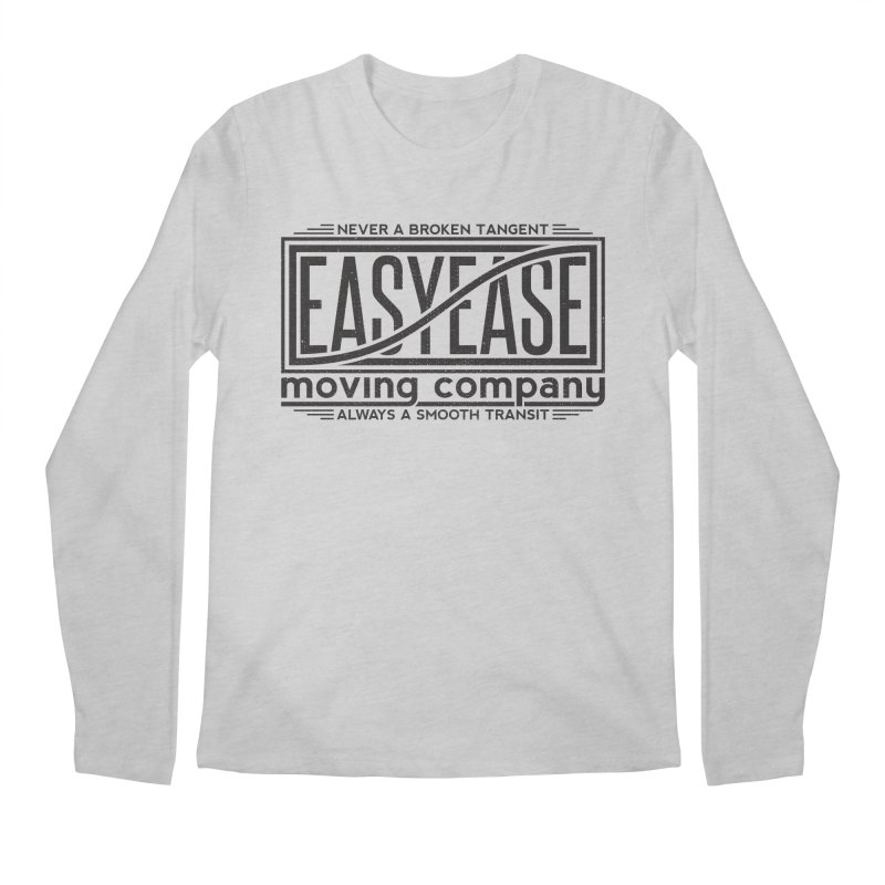 Easy Ease Men's Longsleeve T-Shirt by Teeframed