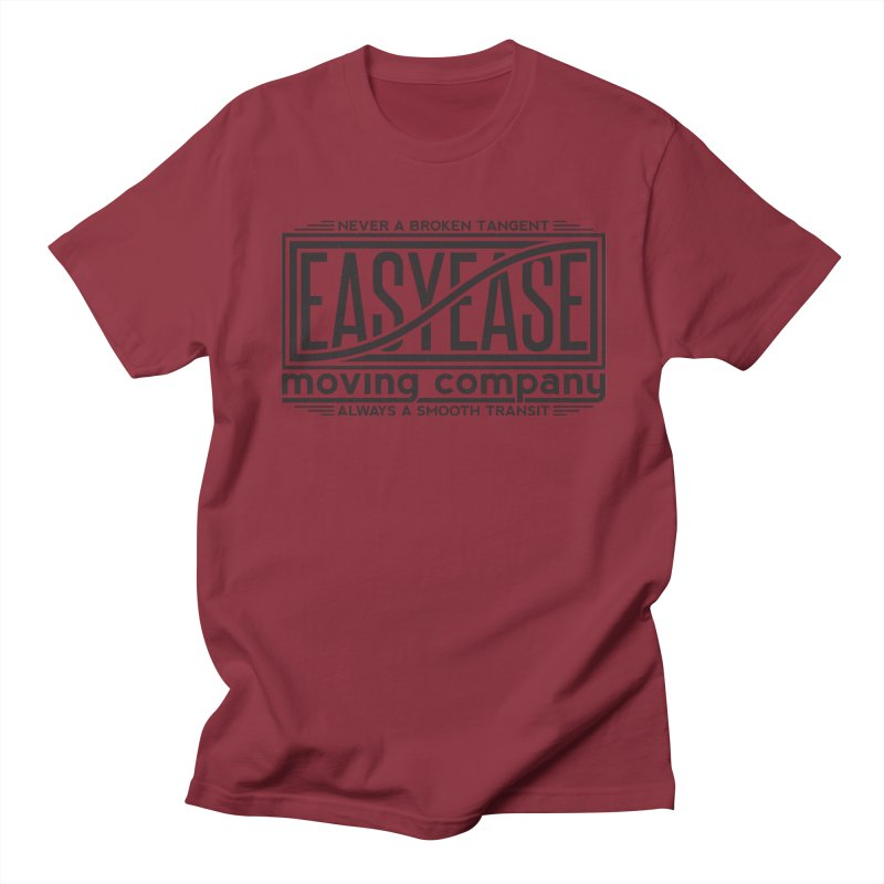 Easy Ease Women's Regular Unisex T-Shirt by Teeframed
