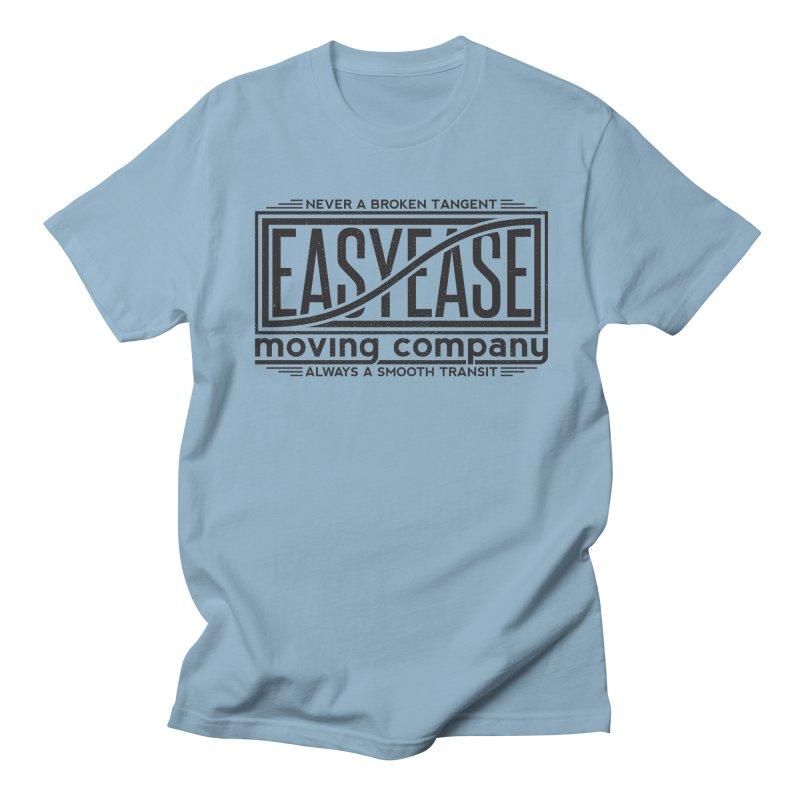 Easy Ease in Men's Regular T-Shirt Light Blue by Teeframed