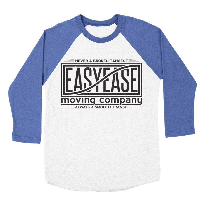 Easy Ease Women's Baseball Triblend T-Shirt by Teeframed