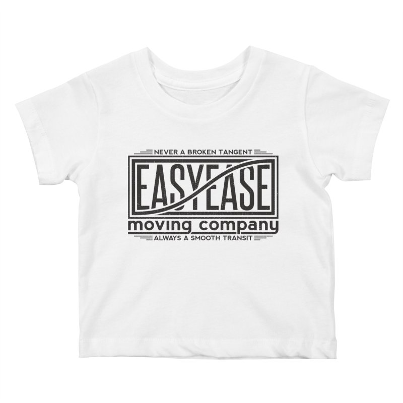 Easy Ease Kids Baby T-Shirt by Teeframed